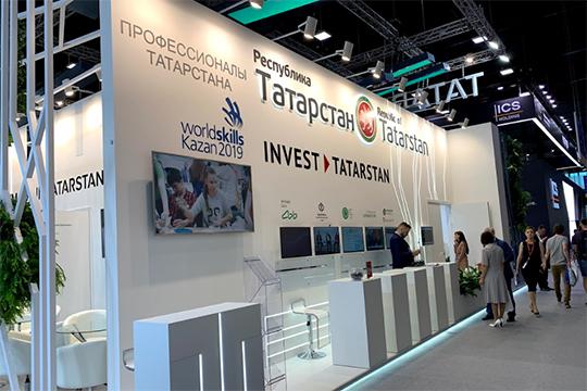 Белоснежный стенд Татарстана, как и других участников выставочной экспозиции, был готов к приему гостей