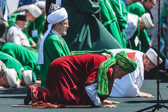 Седьмым в Топ-100 оказался 70-летний председатель Центрального духовного управления мусульман Талгат Таджуддин