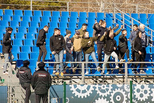 Полиция Набережных Челнов недовольна состоянием безопасности домашней арены «КАМАЗа»