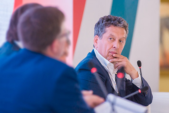 Наиль Магановярко выступил напанельной дискуссии «Перспективы сотрудничества предприятий ТЭК иОПК для импортозамещения итехнологического развития»