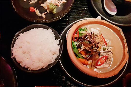 Японское кокосовое карри