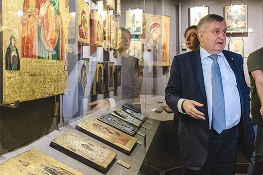 Десятое место рейтинга досталось Валерию Сорокину. Из последнего его вклада в развитие православия в Татарстане — это музей Казанской иконы с историей Казанского Богродицкого монастыря