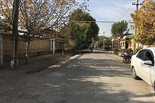 Улица аула Ногай-Курган