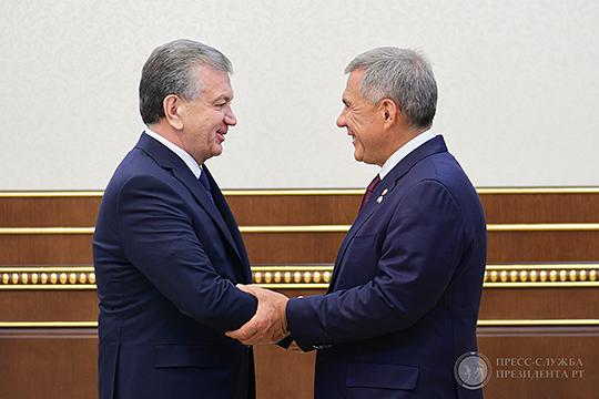 «Достигнутый уровень товарооборота в 145 млн. долларов США значительно меньше тех возможностей, которые имеют Республика Татарстан и регионы Узбекистана», — отметил глава Узбекистана Шавкат Мирзиеев