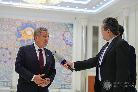 Двухдневная программа визита делегации Татарстана во главе с президентом республики Рустамом Миннихановым была насыщена и даже перенасыщена различными программами