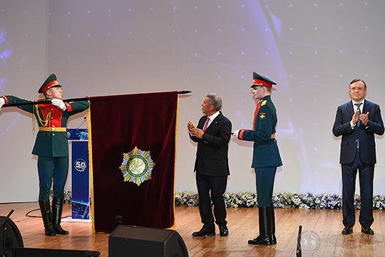 Ордена «За заслуги перед Республикой Татарстан» удостоился коллектив КАМАЗа, отмечающий в эти дни 50-летний юбилей