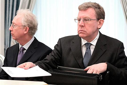 Алексей Кудрин (справа)