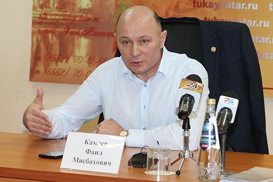 Встреча с журналистами стала подведением итогов нахождения Фаила Камаева у руля Тукаевского района в качестве главы — в декабре исполнился год с момента его назначения