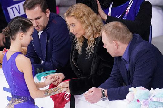 Результат Щербаковой выше, чем победная сумма Дмитрия Алиева в мужских соревнованиях