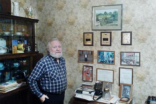 Допоследнего времени вдоме проживалВалерий Грязнов, сын экс-директора Порохового заводаАнатолия Грязнова, работавшего на предприятии с1955 по1967 годы