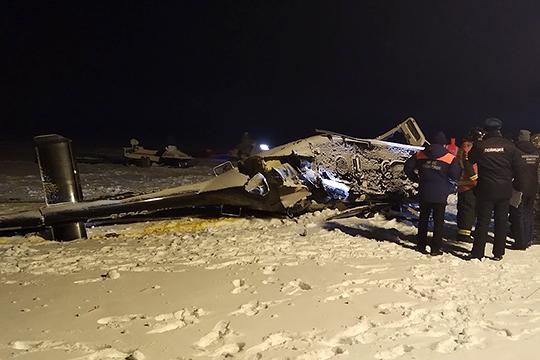 Расследование причин крушения вертолета Bell 407, на борту которого находился погибший депутат Госдумы РФ Айрат Хайруллин, продолжается