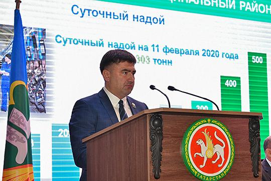 Сергей Дмитриев заявил, что в 2019 году район вышел на рекордные показатели по производству молока, выполнив задачу руководства республики — выдавать по 300 тонн ежедневно