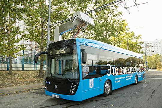 Заместитель директора по развитию по инновационным продуктам ПАО «КАМАЗ» напомнил про гордость компании — электробус КАМАЗ- 6282