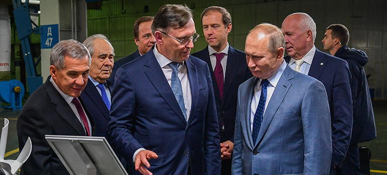 Четыре визита Путина