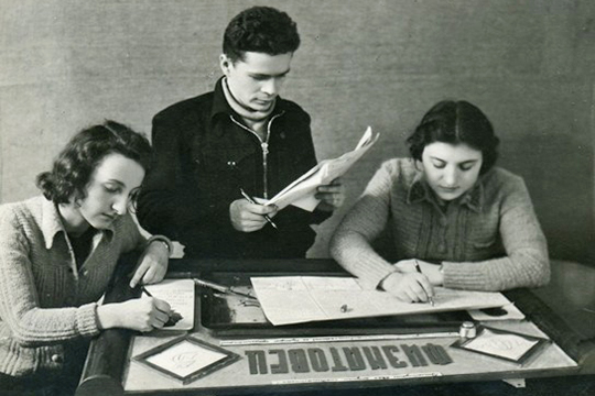 Во время учебы в КГУ