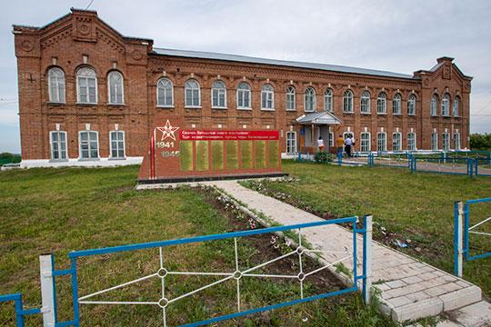 Мыподдали газу наредакционной машине ипоехали всело Курманаево, татарское название которого Кизляу. Примечательно оно тем, что здесь было расположено медресе
