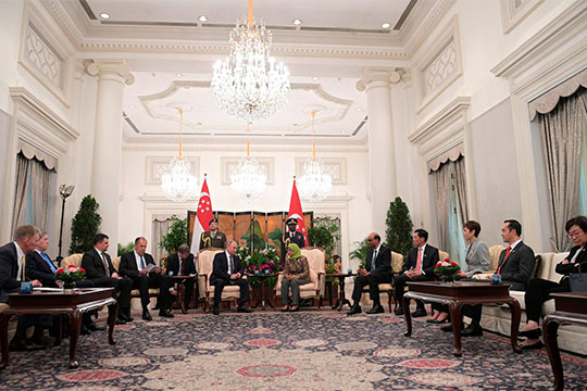 Соглашение междуРФПИ иIndorama Corporationбыло подписано сегодня наполях встречи президента РФВладимира Путинаипремьер-министра СингапураЛиСянь Луна