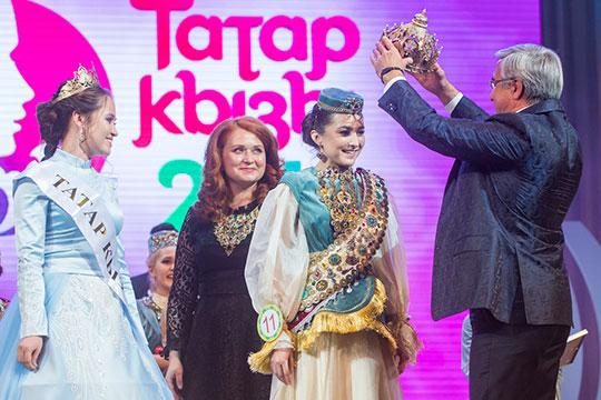«Татар кызы-2018» стала студентка Ижевской государственной медицинской академииДиляра Гильмутдинова,которая, кстати, победила дотого вноминации «Самая грациозная девушка»