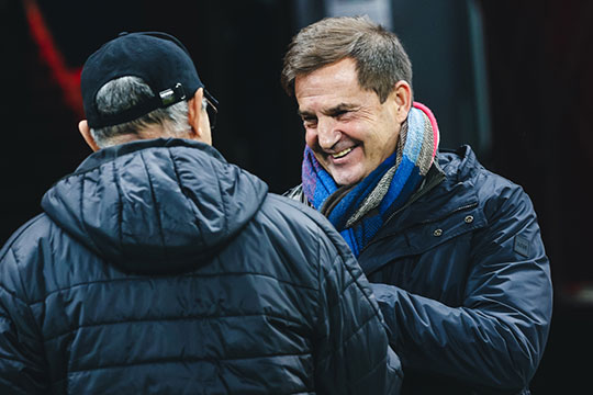 «Бердыев— очень продвинутый российский тренер. Ионхочет, чтобы тренеры развивали вкоманде итехнику, ифизику, иправильную психологию»