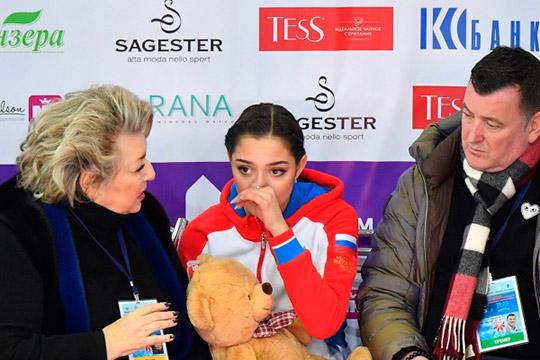 Двукратная чемпионка мираЕвгенияМедведеваоказалась только на14 месте
