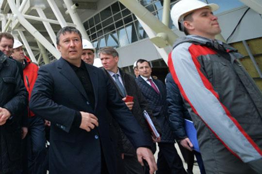 Открывает Топ-50 оборотистых строителей крупнейший актив самого известного представителя отрасли из РТ — Равиля Зиганшина
