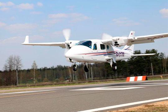 Среди прочих воздушных судов, в собственности Владимира Осташко итальянский Tecnam P2006T