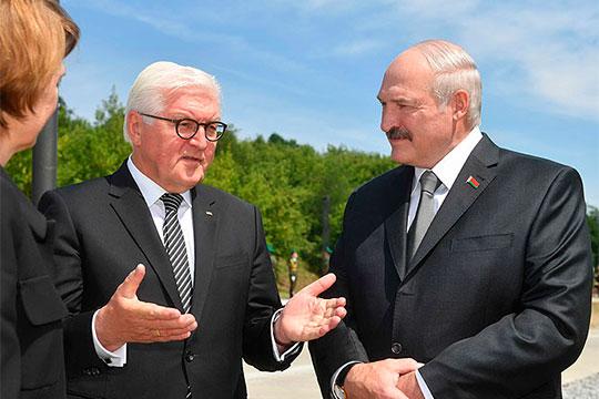 Федеральный президент ГерманииФранк-Вальтер Штайнмайерпобывал вБеларуси летом 2018 года