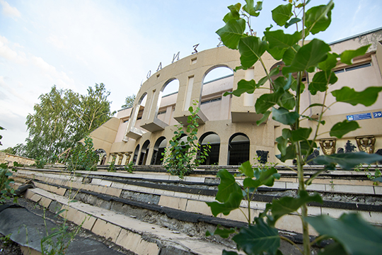 Осенью Главное инвестиционно-строительное управление РТобъявило тендер напроект реконструкции «Колизея» стоимостью 17млн рублей