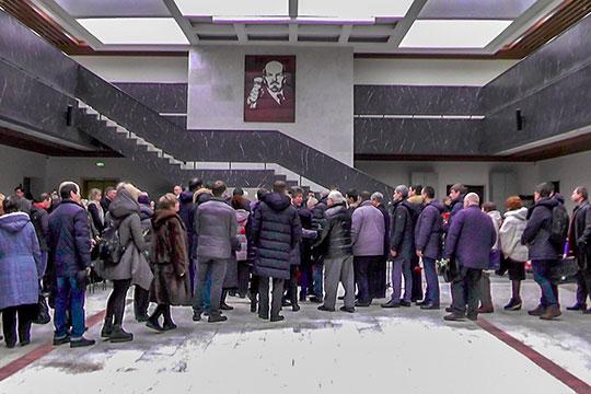 Сегодня в КФУ прошла гражданская панихида, посвященная памяти советского и российского ученого Юрия Решетова