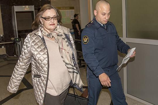 На втором месте в нашем рейтинге банкротов — совладелец КЗСК и «Спурт Банка» Евгения Даутова