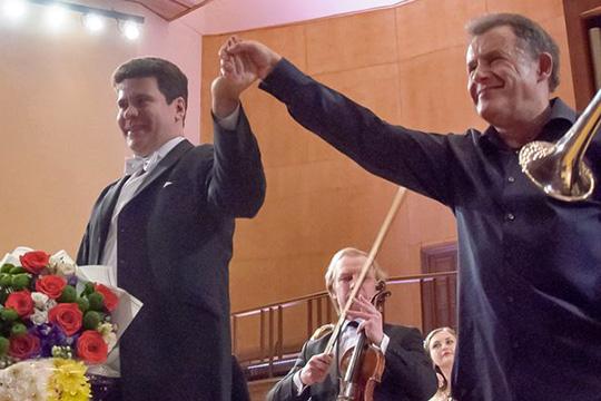 Денис Мацуев: «Меня потрясает уровень подготовки юных музыкантов вЧелнах»