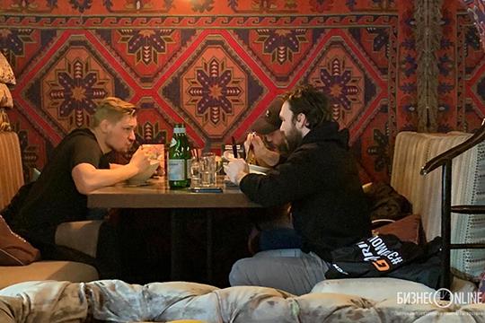Вилле Пекка, Максим Тальбо и Дэвид Деарне