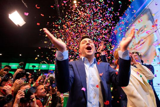 «Посмотрите нанас, все возможно!»: как Зеленский распорядится «путинским» рейтингом?