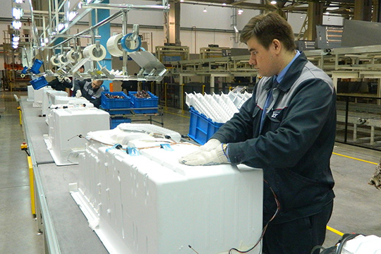 «Назаводе холодильников обещают зарплату в35 тысяч рублей, уменя наFord была значительно выше. Даипредлагаемый соцпакет там тоже неочень впечатляет»