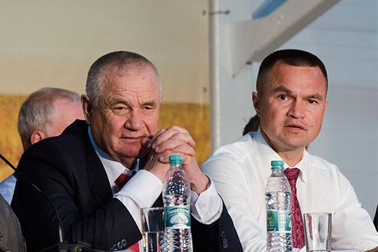 Иван Казанков и Сергей Казанков (слева направо)