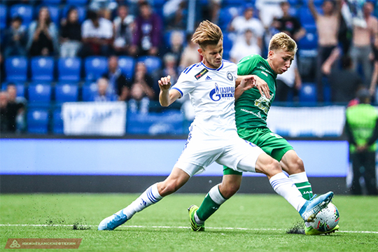 18-летний Данил Степанов играет под сильными нагрузками для своего возраста. В матче с «Оренбургом» Данил из 15 единоборств выиграл только 6