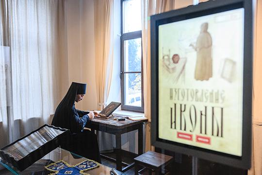Музей в первую очередь посвящен истории иконописной школы Казани