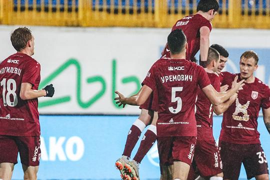 Рано радоваться: «Рубин» выиграл у слабейшей команды, а впереди «Спартак»