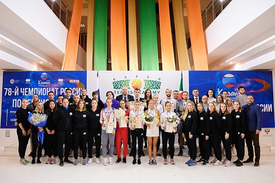 Победители и призеры Чемпионата Росии по теннису 2019