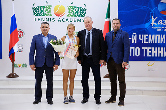 Победитель Чемпионата Росии Анастасия Захарова