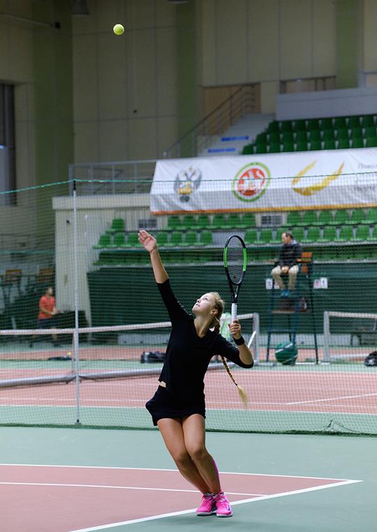 Серебряный призер в парном разряде Елизавета Коклина