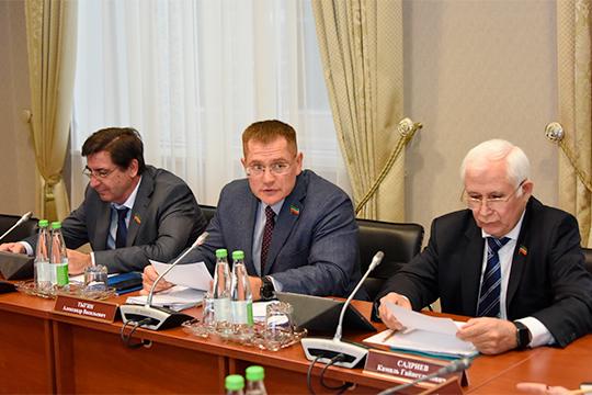 Вчера Александр Тыгин в роли председателя провел первое заседание нового состава комитета Госсовета РТ по жилищной политике и инфраструктурному развитию