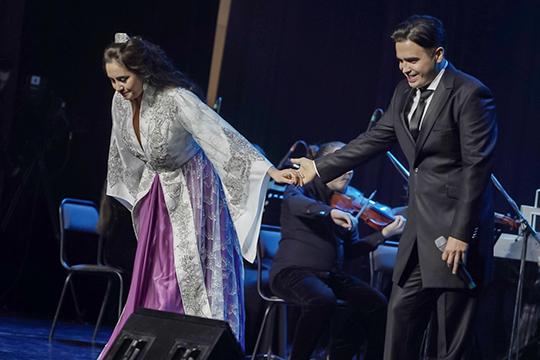 Что касается концерта четы Исламовых, то директор татарского ТЮЗа отметила, что это был очень качественно проработанный успешный проект