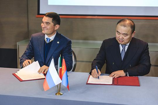 Согласно соглашению, «Татспиртпром» становится эксклюзивным дистрибьютором ультра-премиум бренда APU Company вРоссии. Таким образом, Монголия получает новую точку входа вРФчерез Татарстан