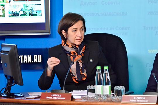 Выступление Гафиятуллина вызвало шок у депутатов и министра культуры Ирады Аюповой