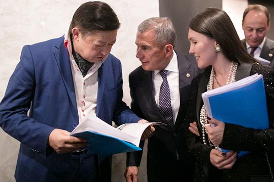Накануне Рустам Минниханов встретился с участниками Медиаклуба при полпредстве РТ в РФ