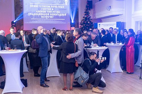 Предприниматели Татарстана собрались вчера вТоргово-промышленной палате Татарстананасвою традиционную новогоднюю ёлку