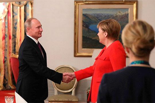 «Путин вывел Россию в мировые политические лидеры! Меркель подтвердила это»