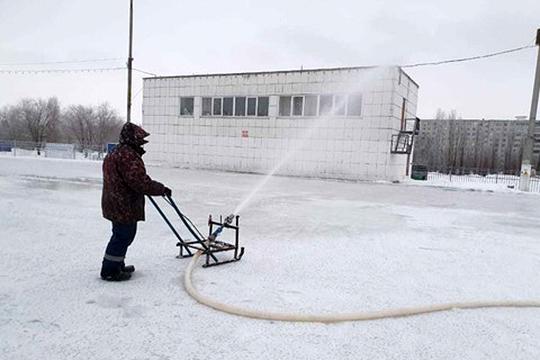 Количество мест массового зимнего отдыха челнинцев может, наконец-то, пополнить каток «Медео»