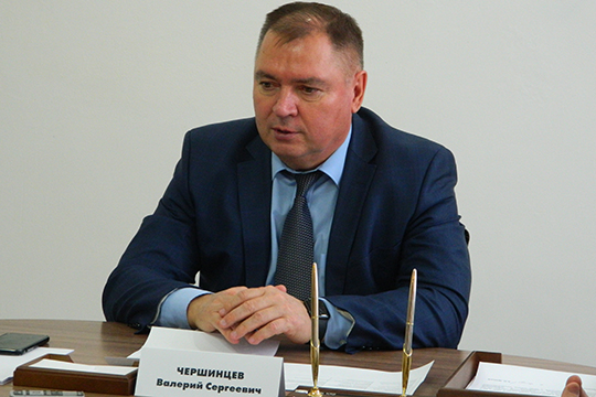 ВалерийЧершинцев:«Сегодня на«Аммонии»уже начинается реализация ряда новых мощных иинтересных проектов— таких, например, как производство меламина или карбамидно-аммиачной смеси»